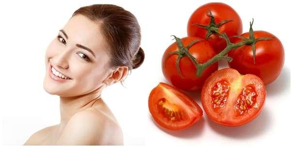 Kết quả hình ảnh cho Trị thâm quầng mắt bẩm sinh với cà chua