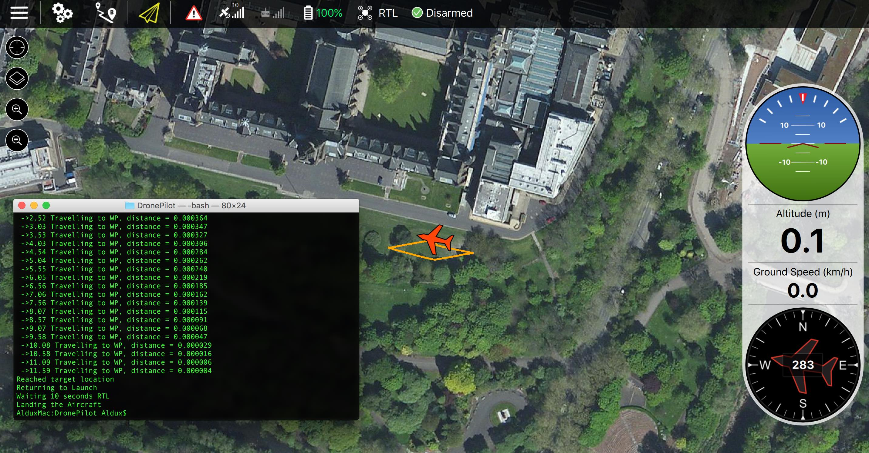 GitHub - alduxvm/DronePilot: Automatic pilot that can control and