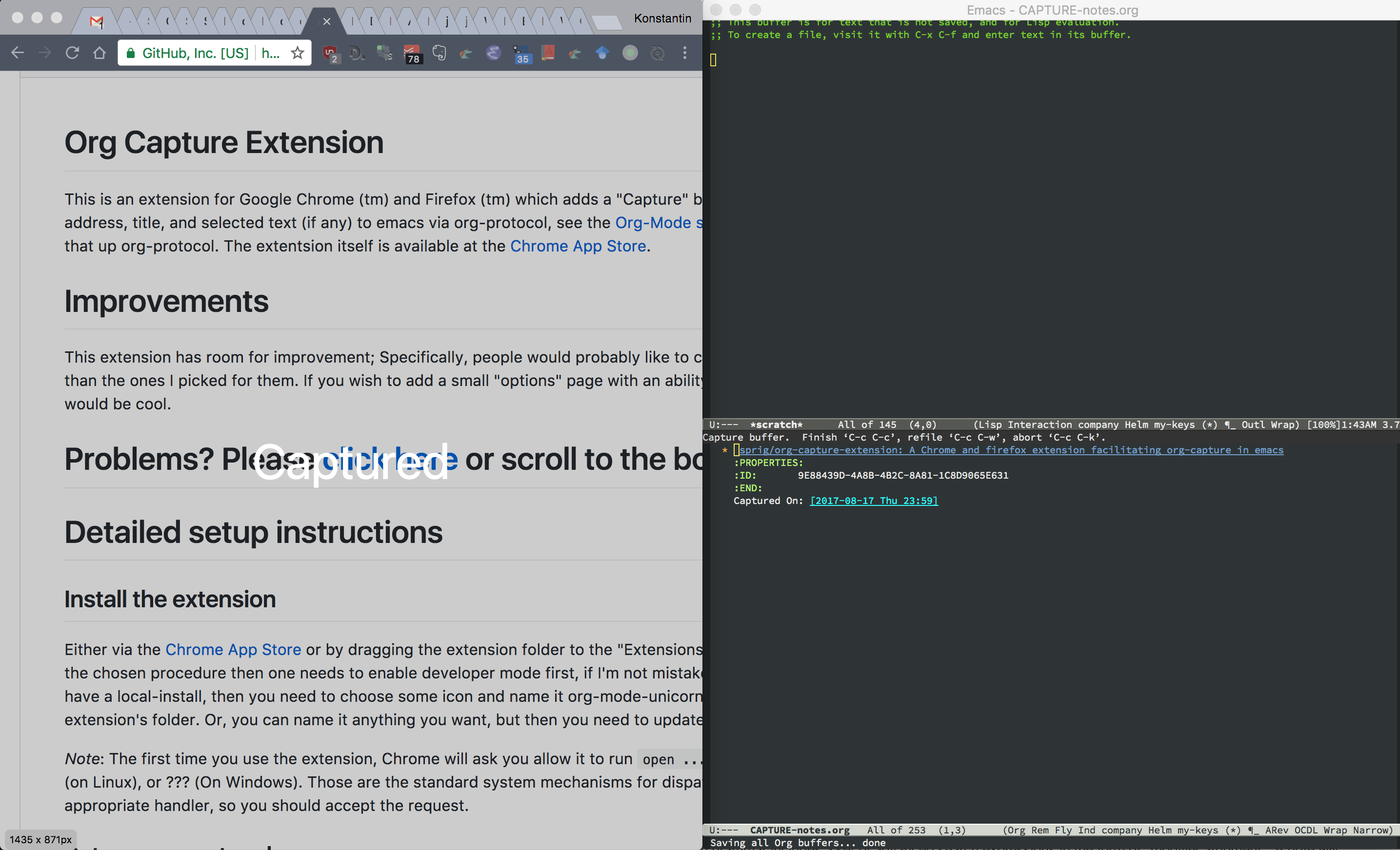 Example Usage Screenshot