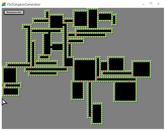 GitHub - leoncvlt/flx-dungeon-generator: Random dungeon generator