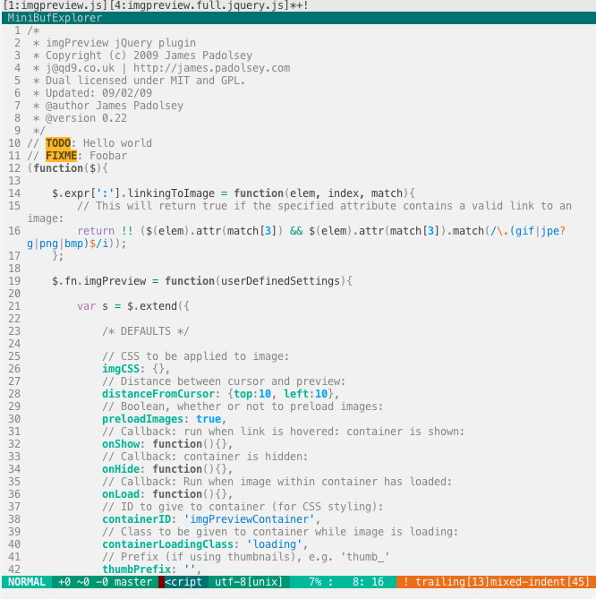 FlatUI with Javascript