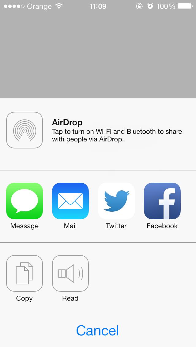 ARSpeechActivity screenshot