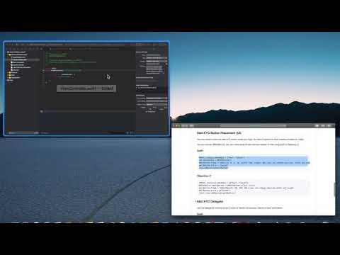 Mati SDK integration demo video