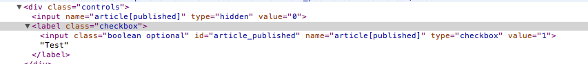 Boolean checkboxes doesn't work in a normal Rails
