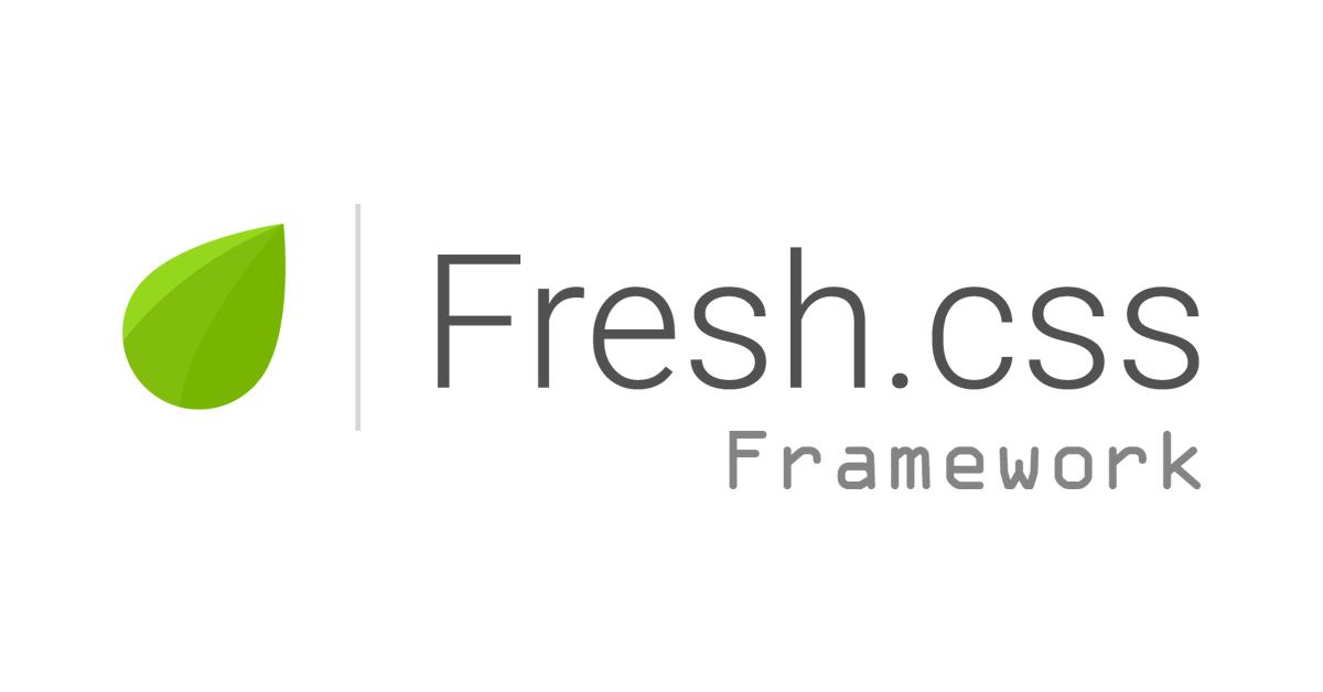 Fresh CSS Framework | Framework de css | Diseño web | Crear paginas web | frontend