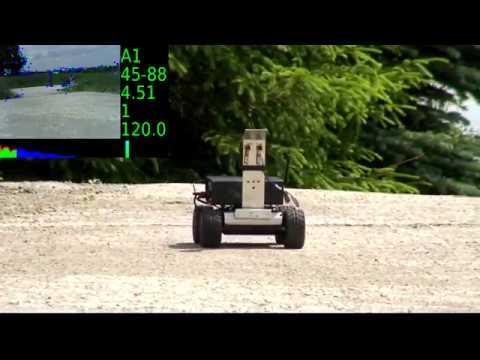 MMP5 robot autonomous drive