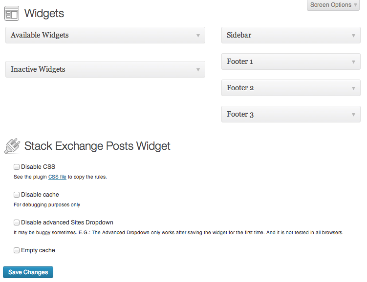 Plugin template in action