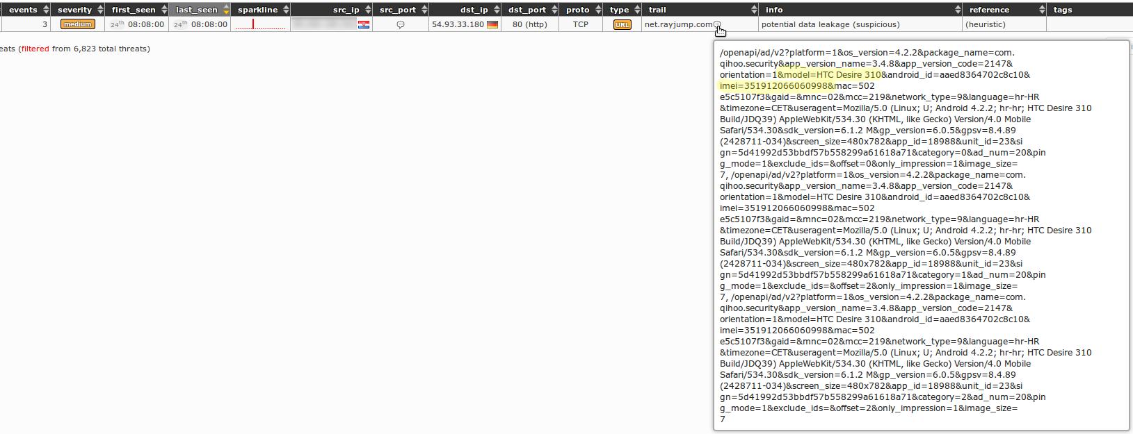 Mal dns search web