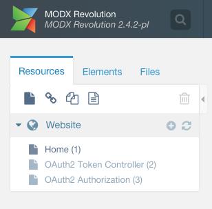 OAuth2Server Authorization Resource