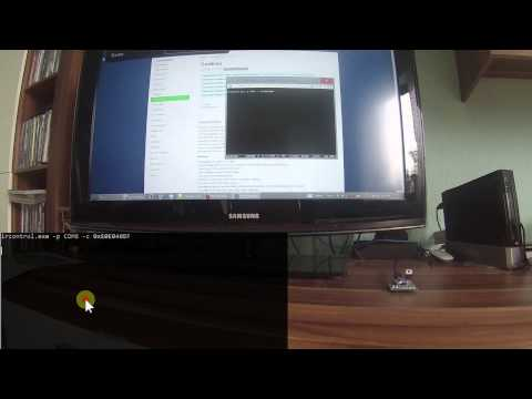 Control your tv from the windows command line