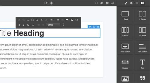 GitHub - artf/grapesjs-plugin-ckeditor: This plugin replaces the