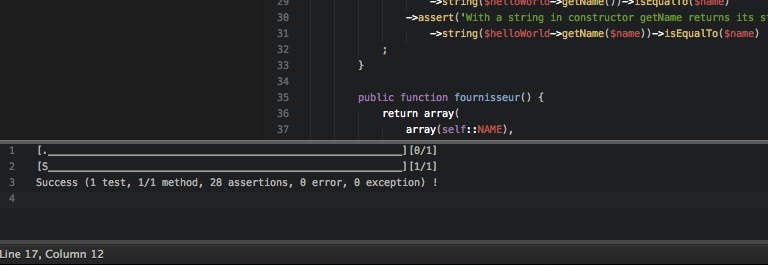 'A simple Sublime Text 2 plugin for atoum, unit testing framework for php'