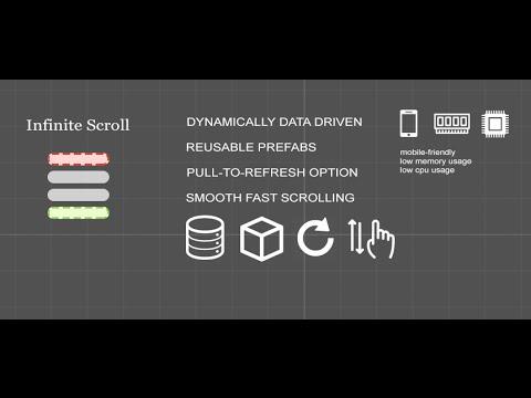 GitHub - mopsicus/infinite-scroll-unity: Infinite Scroll is