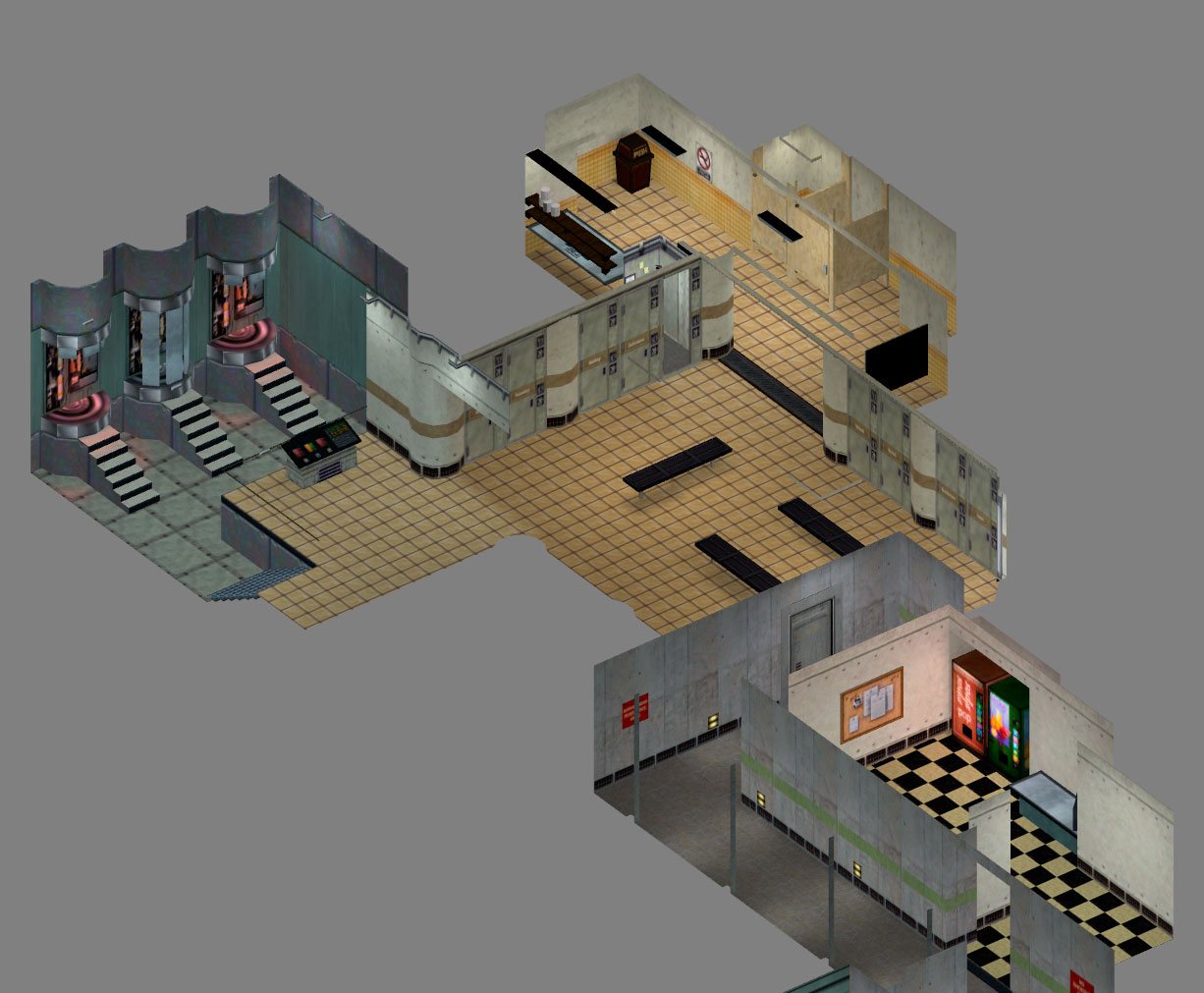Isometric support