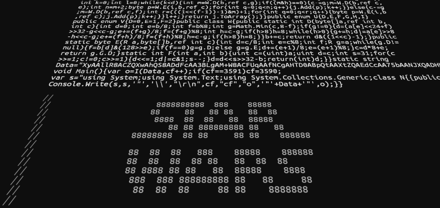Star wars in source code