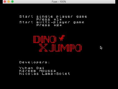 Dino X Jumpo Demo