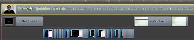 timeline three videos