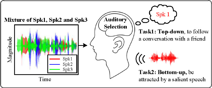 Figure 1: Auditory Attention