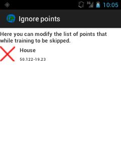 Alt ignore points window