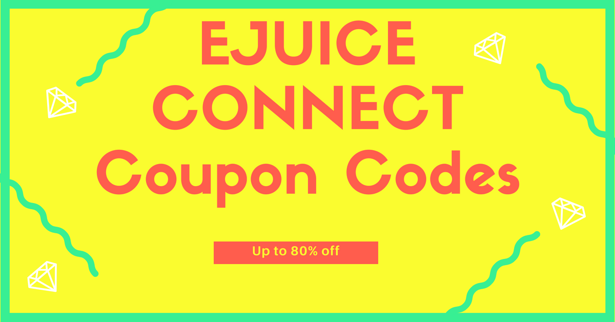 eJuice Connect Coupons, Discounts and Promo Codes