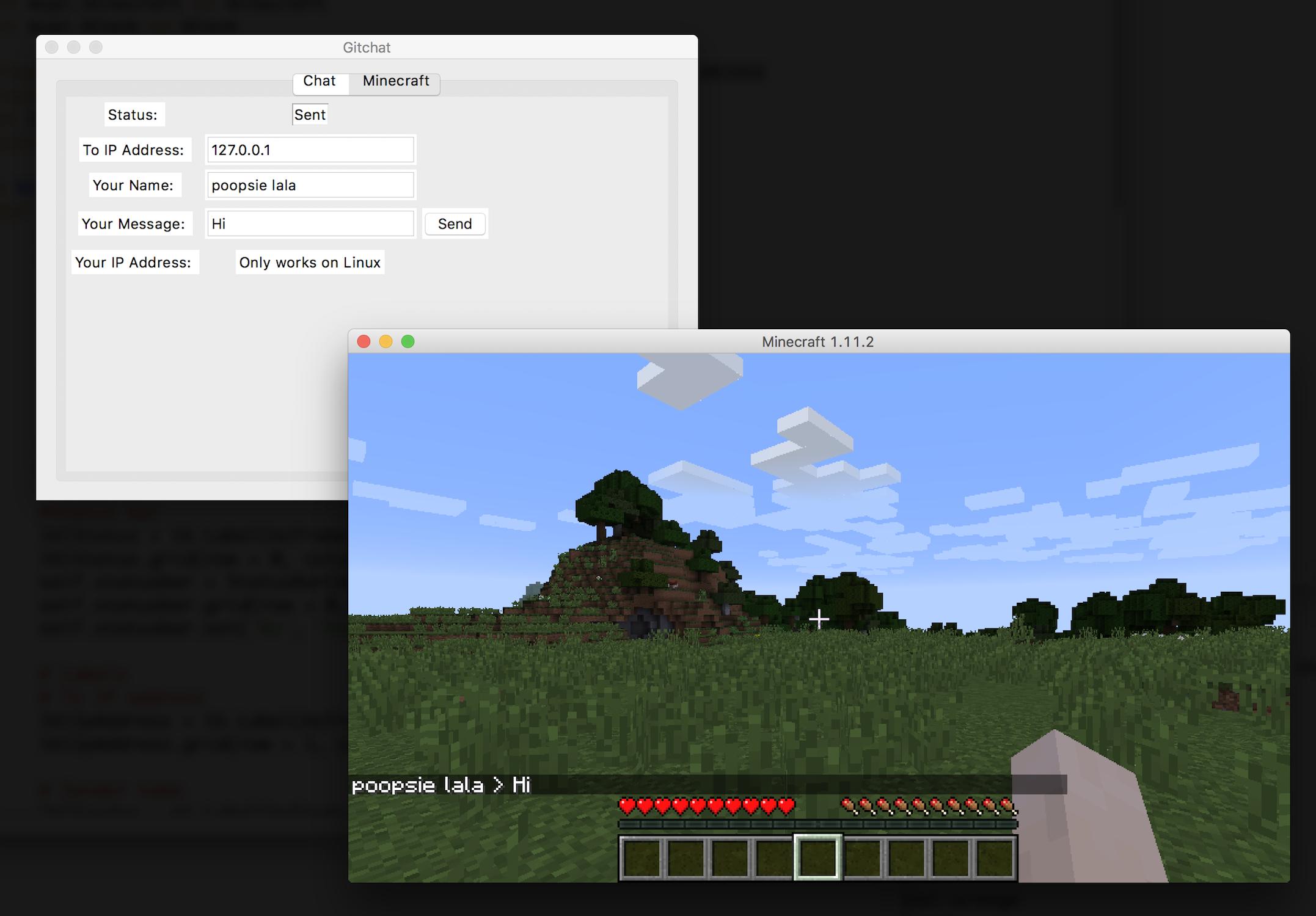 Image of Gitchat Minecraft