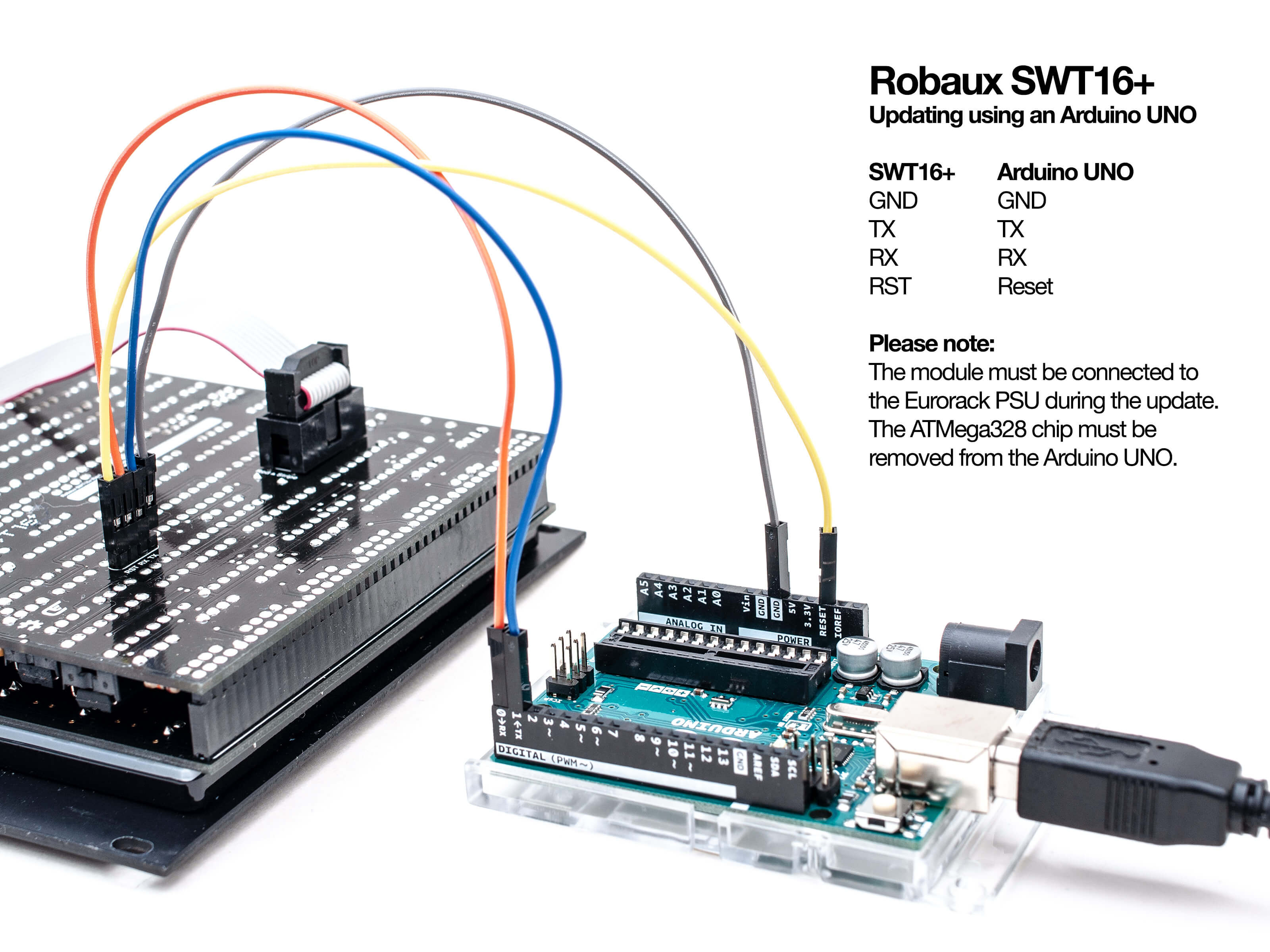 Updating using a Arduino Uno