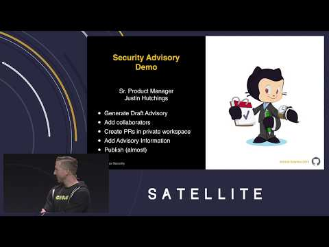 GitHub security advisories