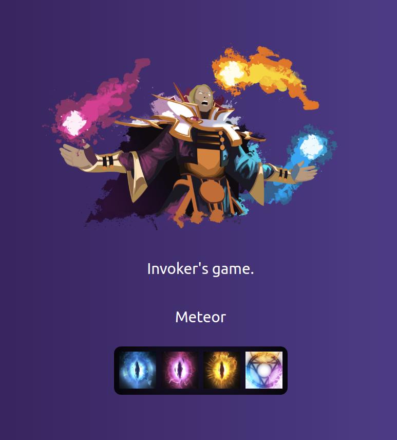 GitHub - zendostrike/invoker-game: Invoker game made with React!