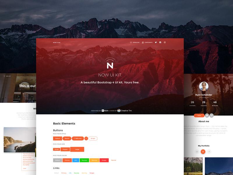 Now UI Kit HTML