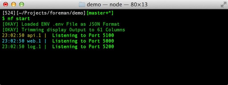 GitHub - strongloop/node-foreman: A Node js Version of Foreman