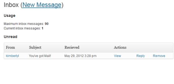 messaging inbox