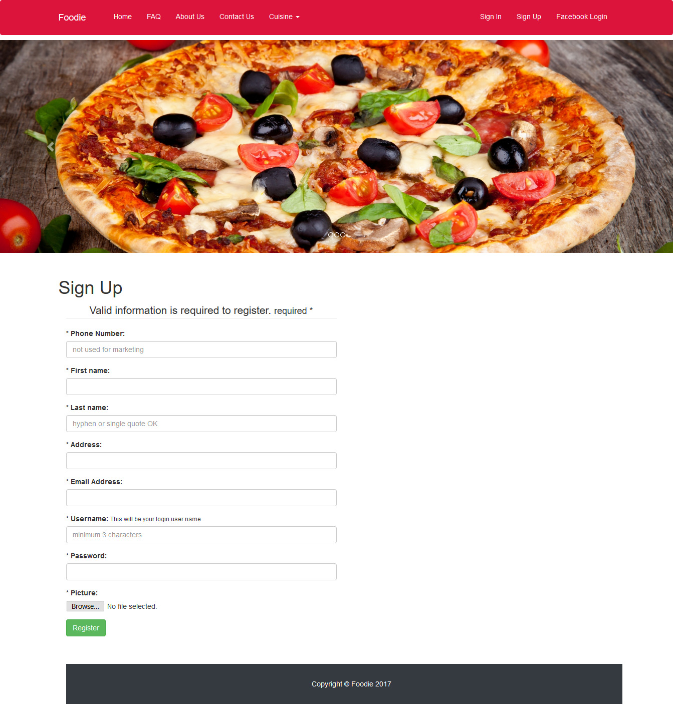 GitHub - adar2378/Food-Delivery: A website like foodpanda to order