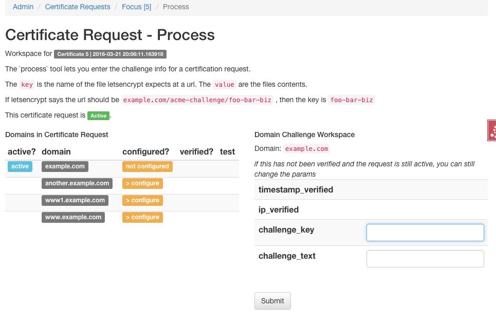 CSR: Automate 'manual': Enter Challenges