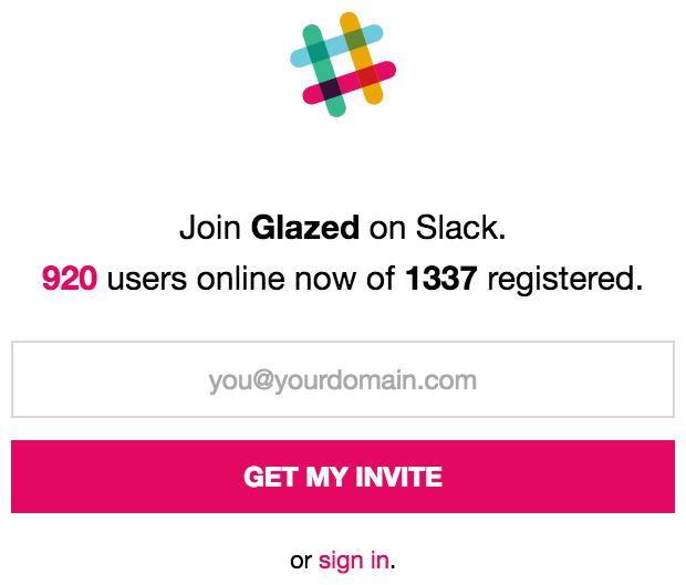 Join us in Slack