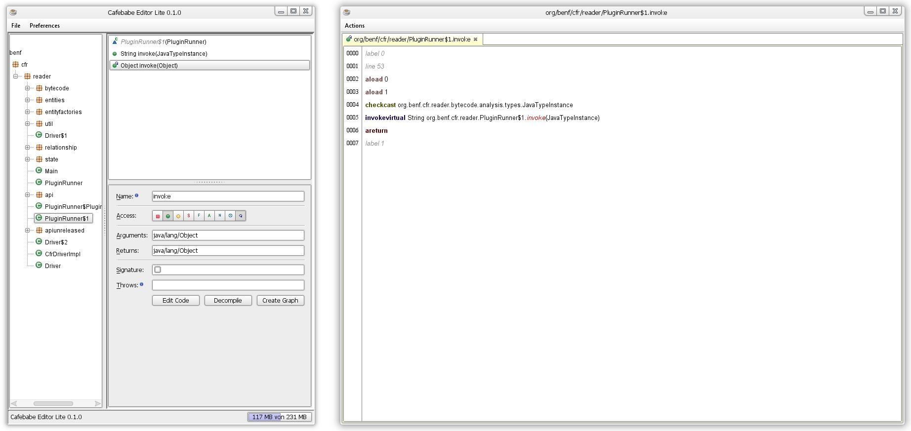 GitHub - GraxCode/Cafebabe: Easy-to-use java bytecode editor