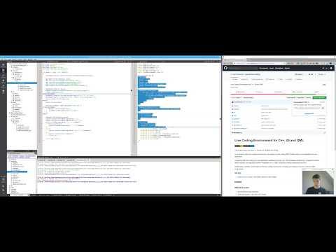 Qt/QML Live Coding with C++ Tutorial