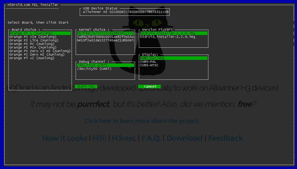 GitHub - pmp-p/fel-installer: H3 / H2+ boards microusb FEL
