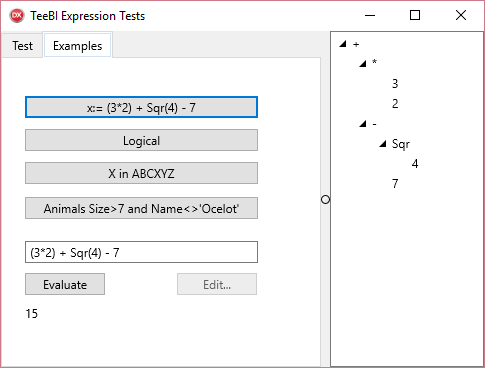 TExpression Test Demo