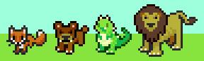 Pet-Fox-BearCub-Dragon-Lion