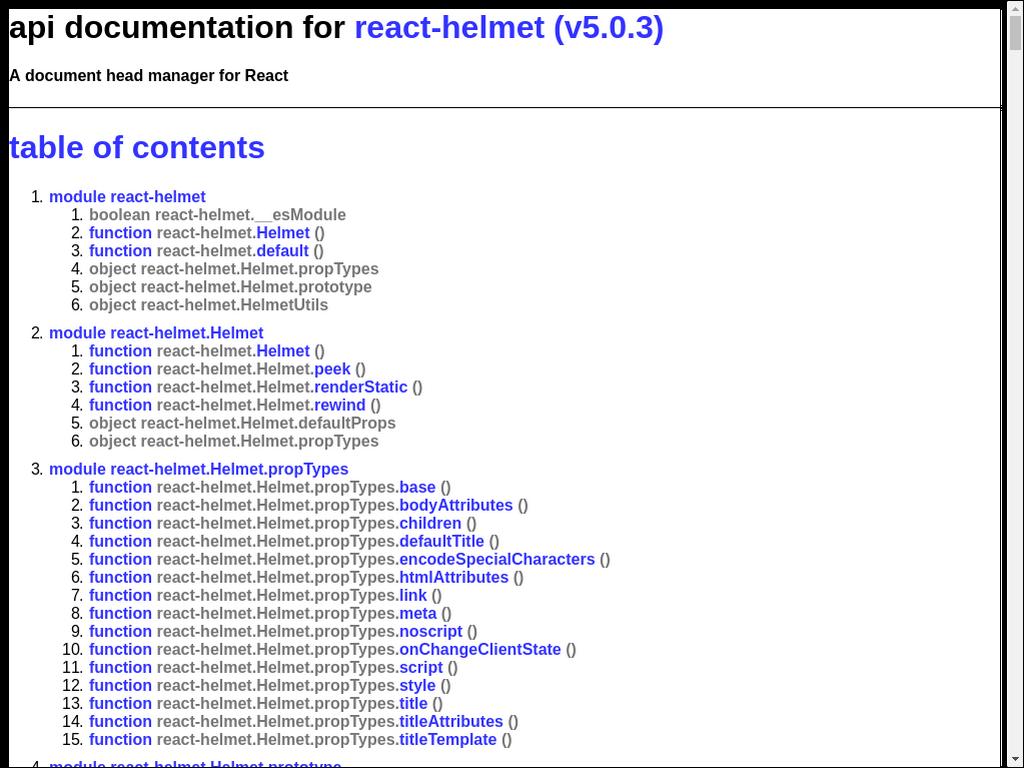npmtest-react-helmet 0 0 1 on npm - Libraries io