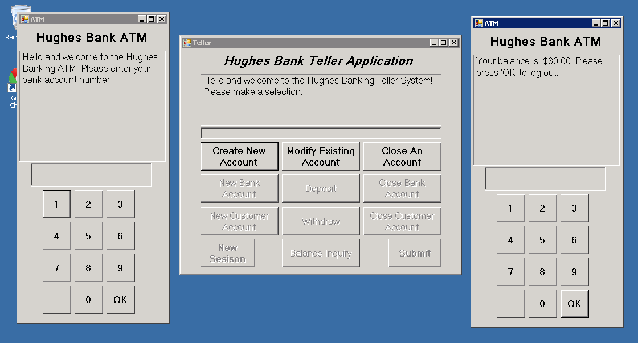 Banking Screenshot