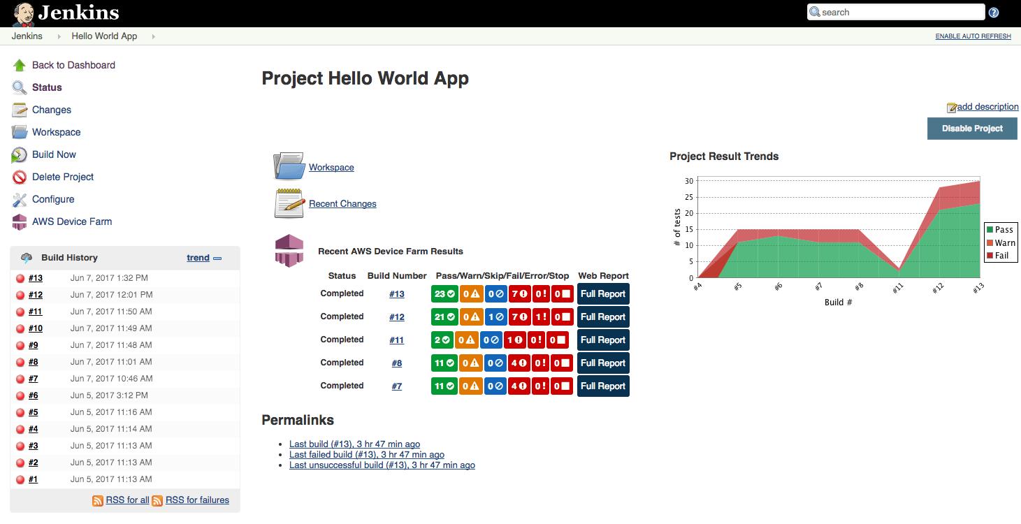 GitHub - awslabs/aws-device-farm-jenkins-plugin: Jenkins
