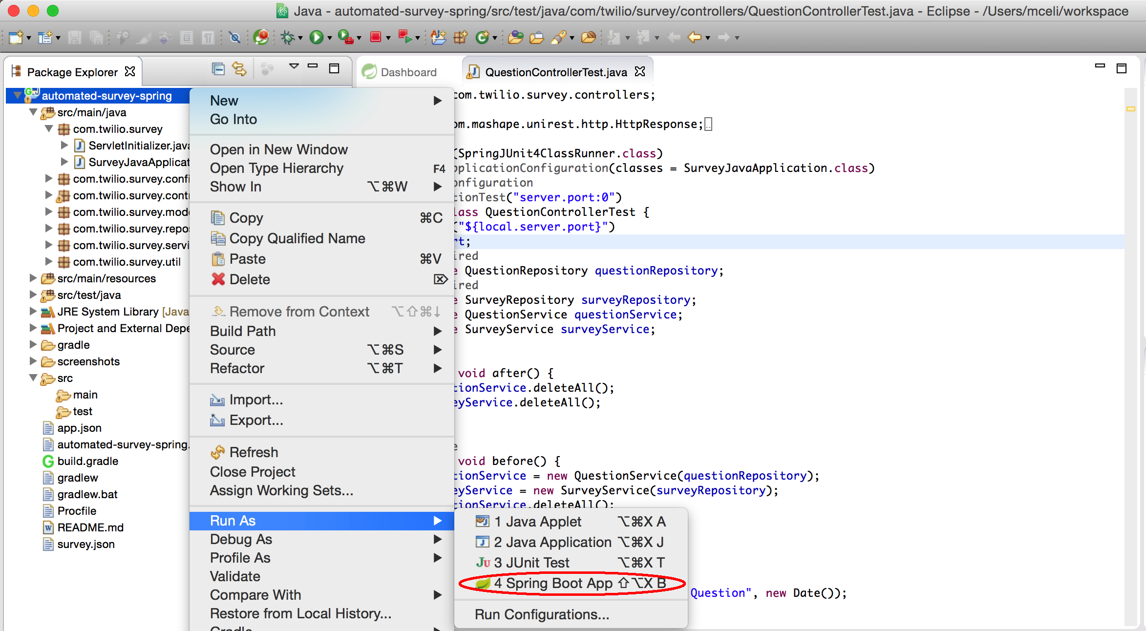 GitHub - TwilioDevEd/automated-survey-spring: Java Spring