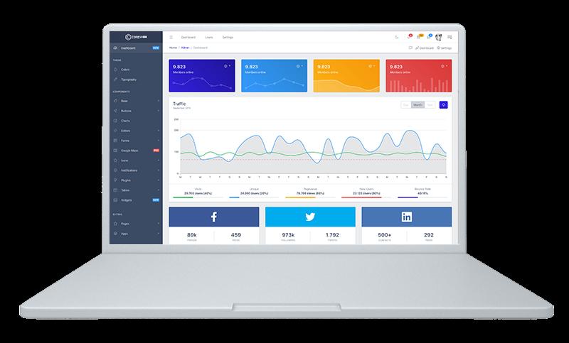 CoreUI Pro Bootstrap Admin Template