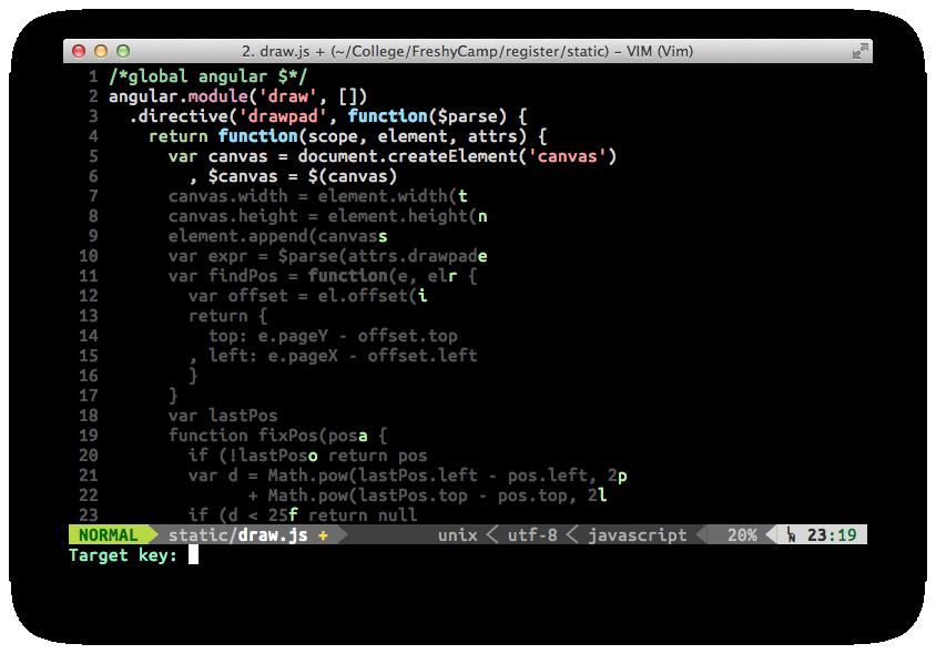 easymotion Color Screenshot