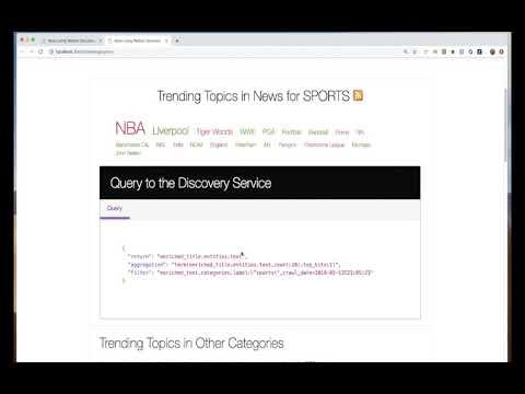 GitHub - IBM/watson-discovery-news: A Node js web app that