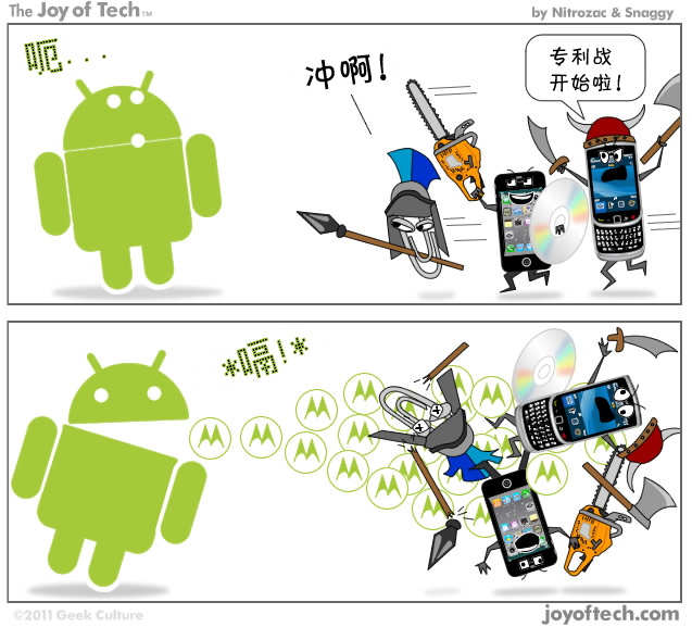 Android and Motorola