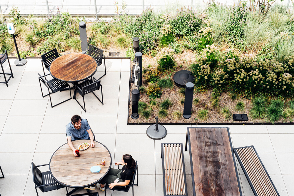 BuzzFeed: Outdoor space