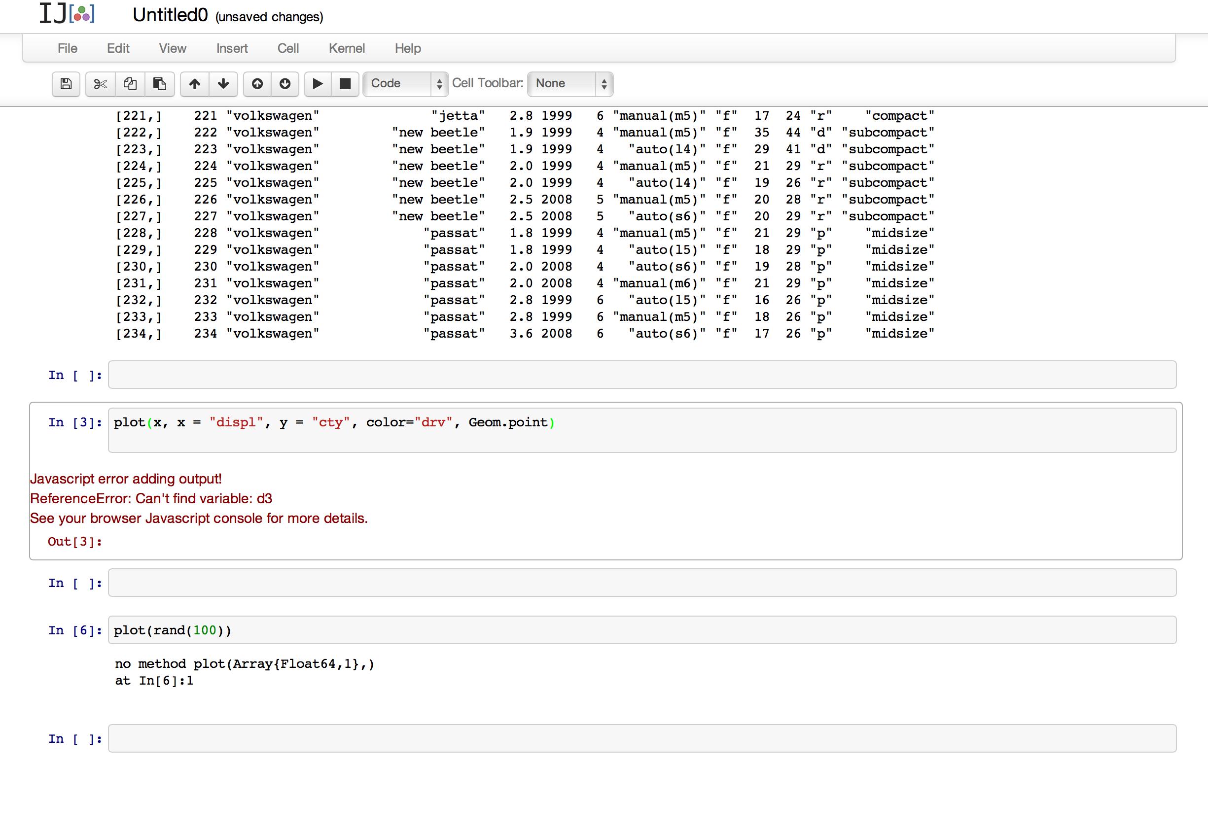 IJulia Notebook + Gadfly = javascript error? · Issue #83