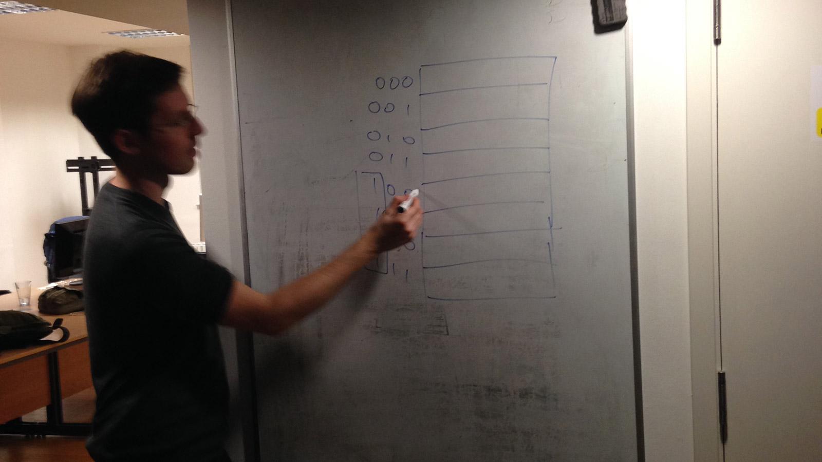 Leo draws addressing